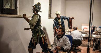 Domenica 21 Gennaio 2018 Vetere Elena Presenta il restauro del Gruppo ECCE HOMO (Misteri TP)