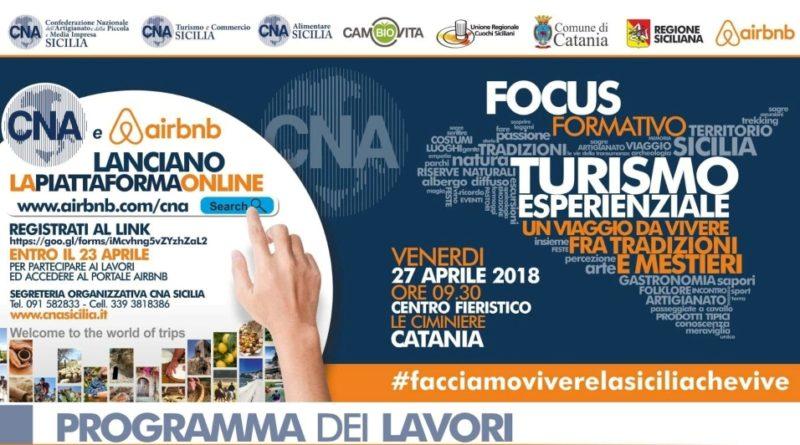 Turismo Esperienziale – Iniziativa CNA Sicilia – 27 Aprile 2018 a Catania