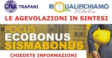 FOCUS: ECOBONUS – SISMABONUS – Le agevolazioni in sintesi